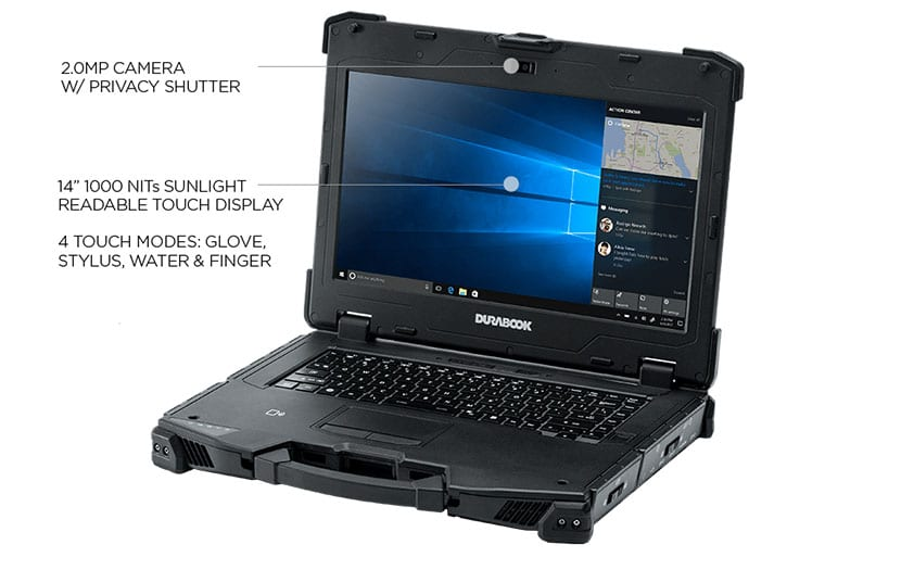 durabook z14i rugged laptop