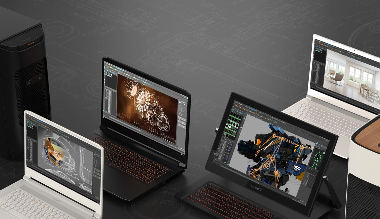 Acer ConceptD lineup IFA 2019