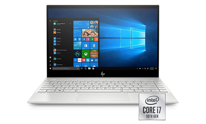 hp envy 13-aq1010nr thin and light laptop