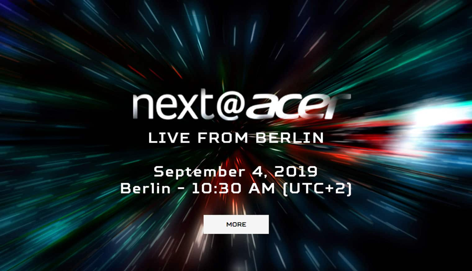 next@acer IFA Berlin 2019
