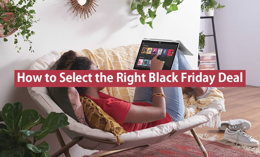 how to select the right black friday laptop deal