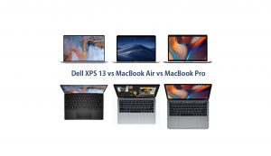 xps 13 vs macbook air vs macbook pro