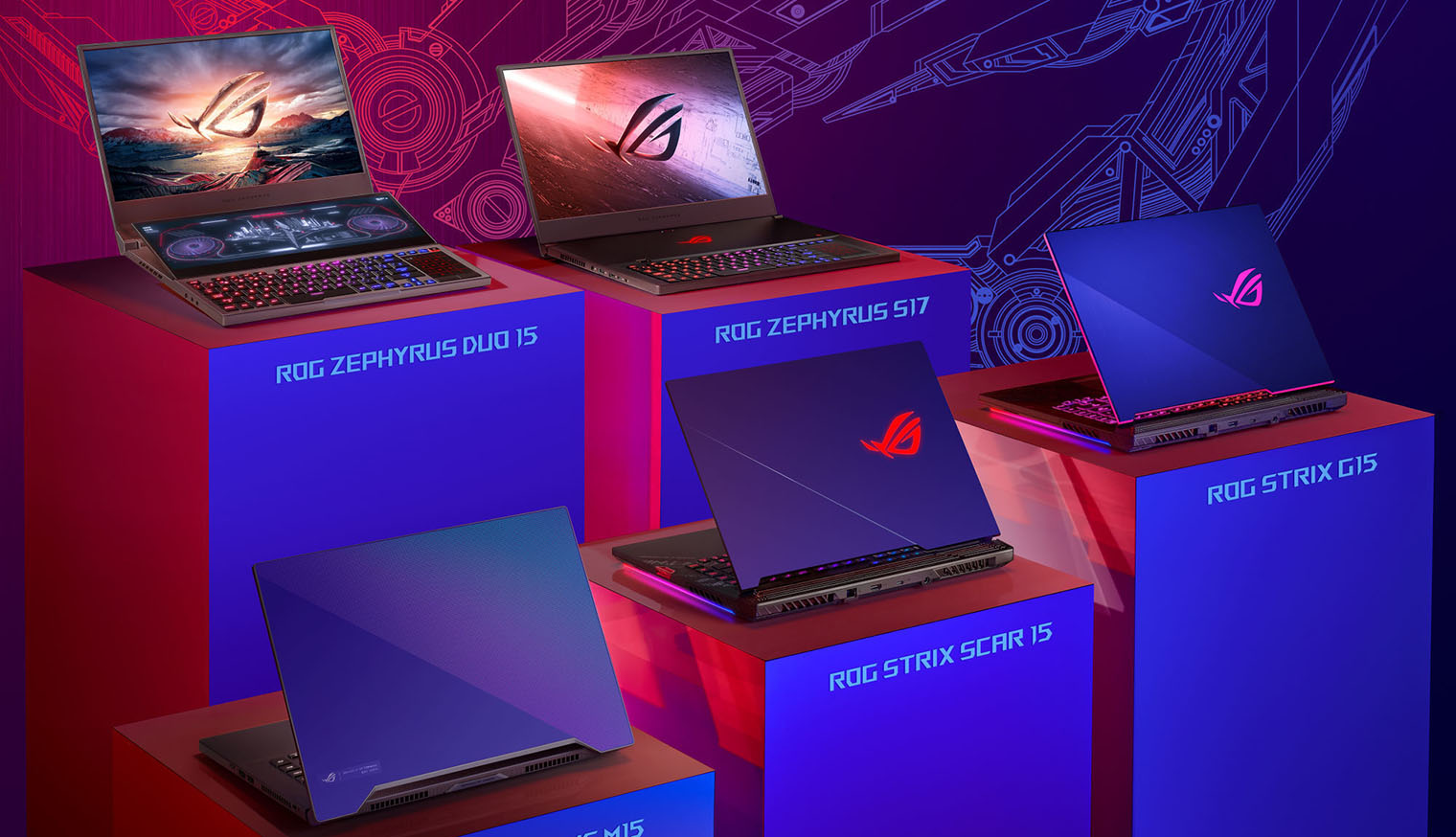 asus 10th gen gaming laptop lineup