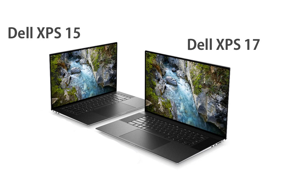 Dell XPS 15 9500 and Dell XPS 17 9700