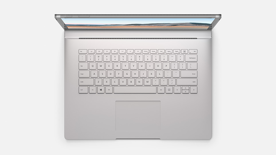 Surface Book 3 keyboard