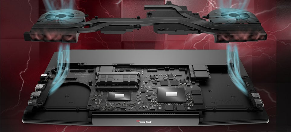 thermal system dell g5 15 se 5505