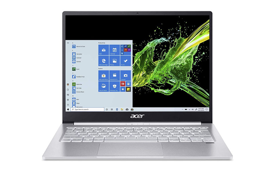 acer swift 3 sf313-52-79fs thin and light laptop