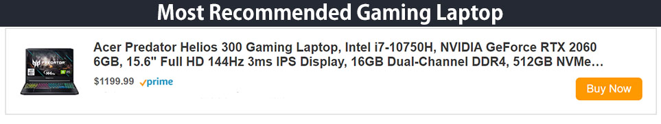 AD Recommended Gaming Laptop