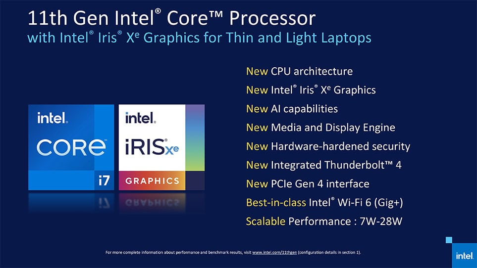 new features of 11th gen intel processor