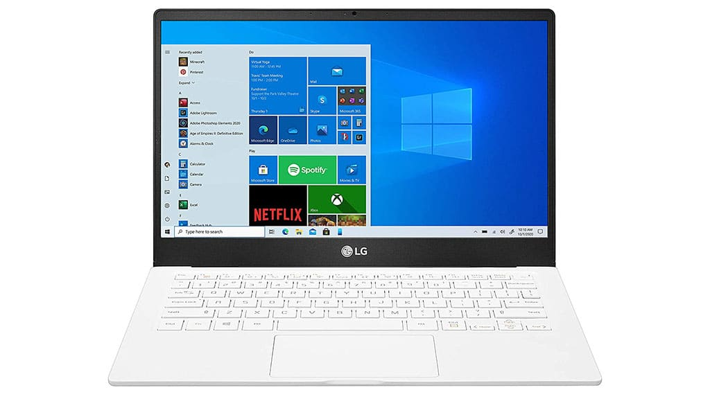 2021 LG Gram 13U70P thin and light laptop