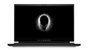 Alienware m17 R4 White with Tobii Front