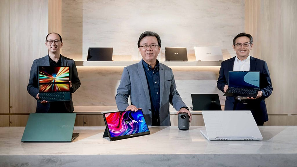 asus launches new lineup of laptops at ces 2021