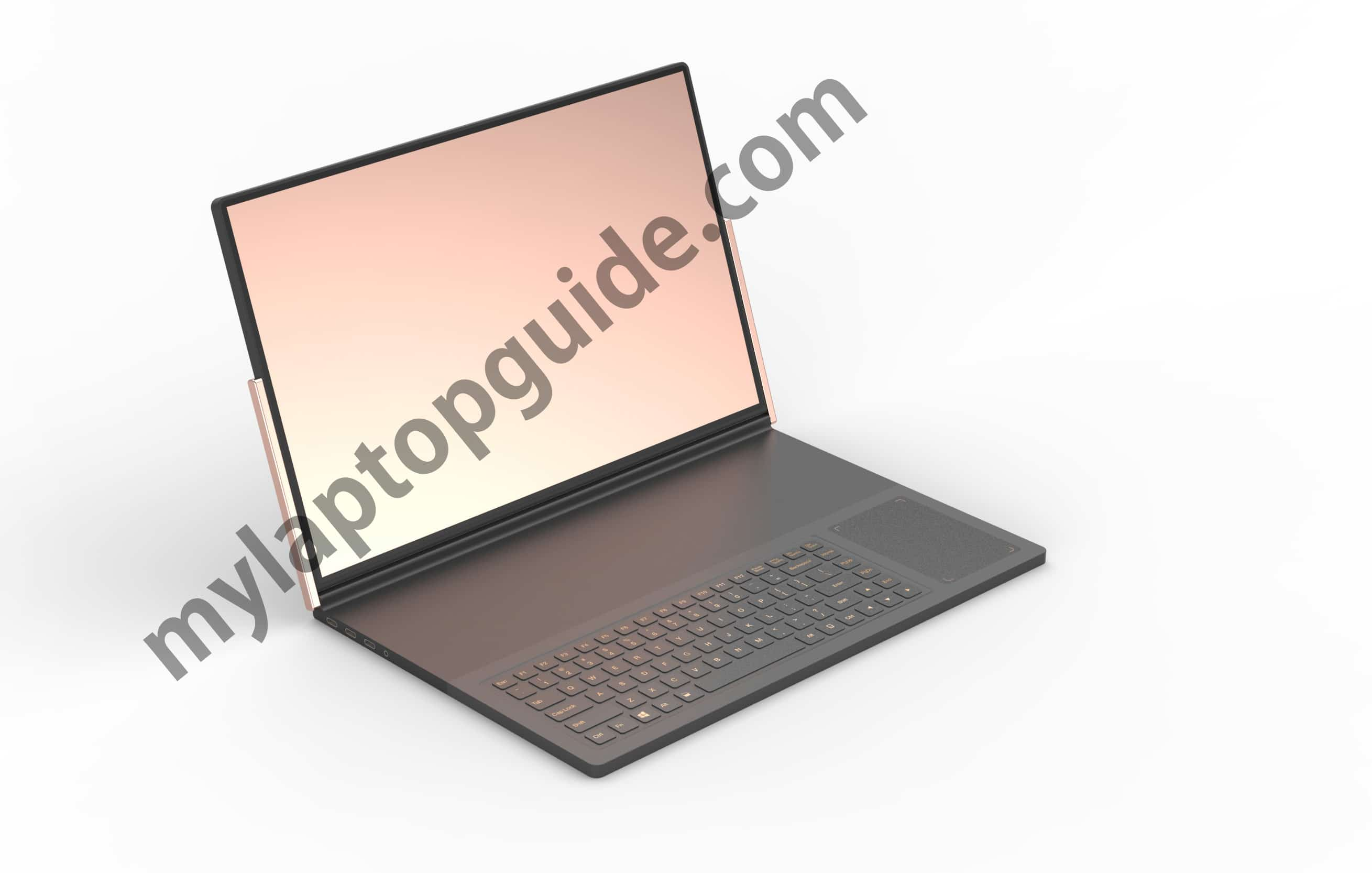 dell shifter laptop mode