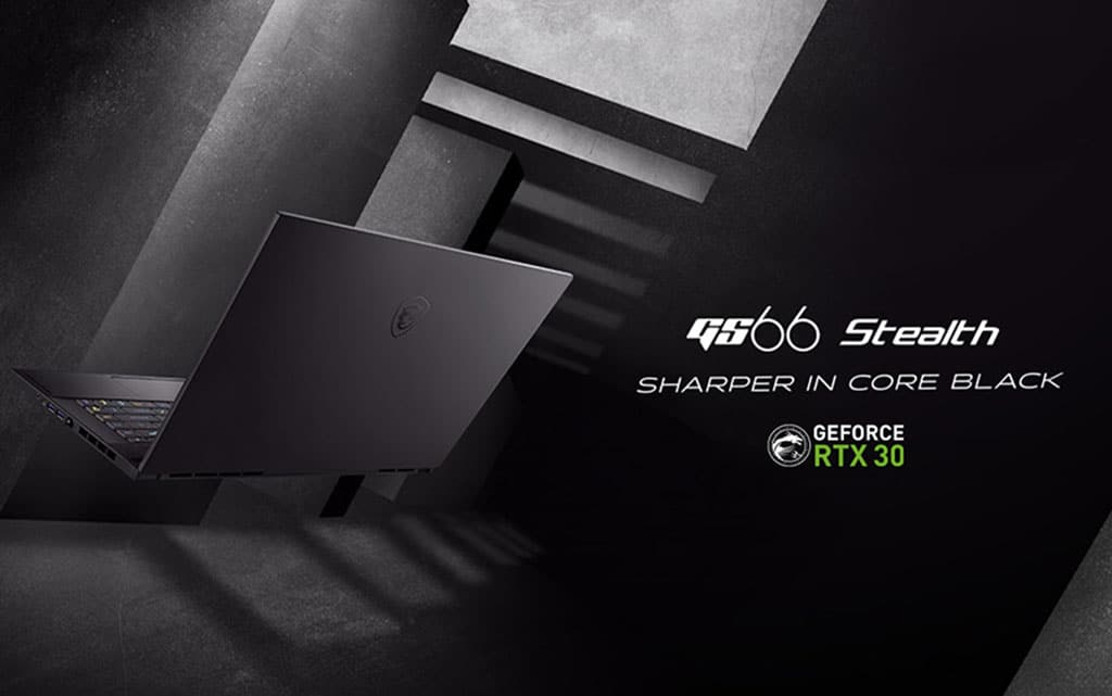 msi gs66 stealth rtx 30