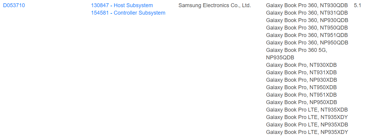 samsung galaxy book pro 360 leaked