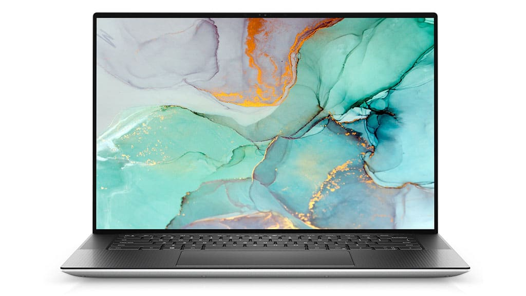 dell xps 15 9510 front