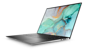 dell xps 15 9510 side view