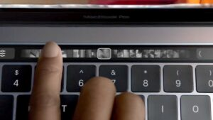 decommissioned touch bar