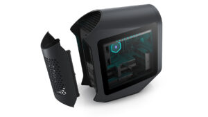 new alienware aurora 2021 with legend 2_0 rear cable cover